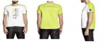 Lamborghini Men's First Class Driving t-shirt - Lime